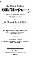 Dr  Martin Luther s Bibel  bersetzung nach der letzten original ausg PDF
