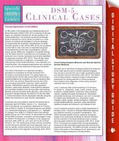 DSM 5 Clinical Cases  Speedy Study Guides  PDF