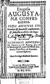 Exegesis Augustanae Confessionis
