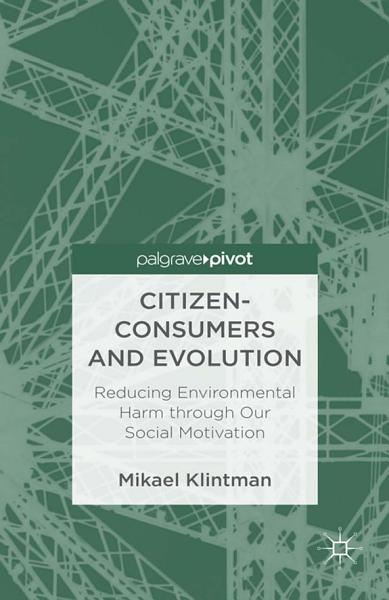 Citizen Consumers And Evolution
