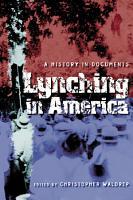 Lynching in America PDF