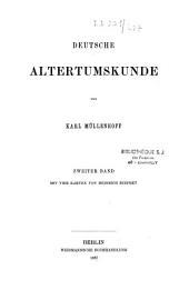 Deutsche Altertumskunde: Band 5
