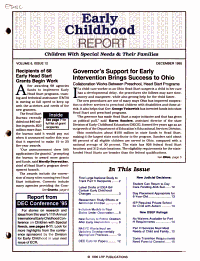 Early Childhood Report PDF