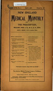 New England Medical Monthly: Volume 18, Issue 5
