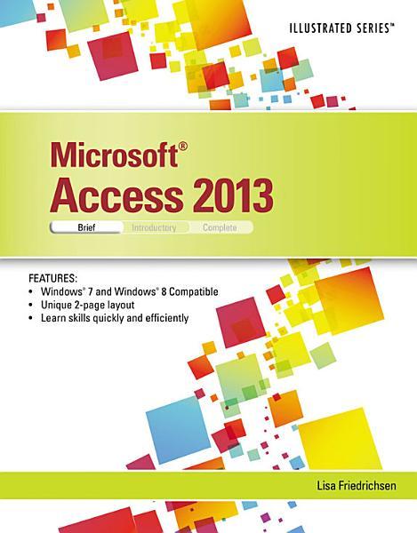 Microsoft Access 2013  Illustrated Brief PDF