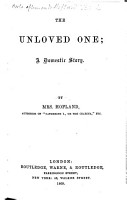 The Unloved One  a domestic story PDF
