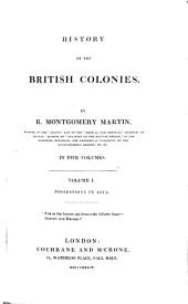 History of the British Colonies: Possessions in Asia