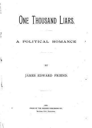 One Thousand Liars PDF