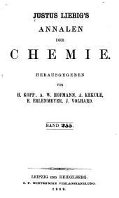 Justus Liebigs Annalen der Chemie: Bände 255-256