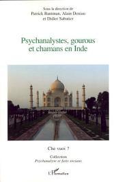 Psychanalystes, gourous et chamans en Inde