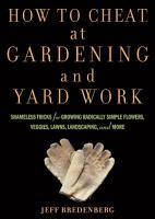 How to Cheat at Gardening and Yard Work PDF