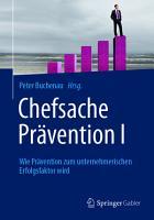 Chefsache Pr  vention I PDF
