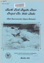 North Fork Payette River Project, FERC No. 2930-Idaho