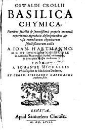 Oswaldi Crollii Basilica Chymica
