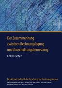 Der Zusammenhang zwischen Rechnungslegung und Aussch  ttungsbemessung PDF