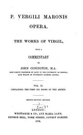 P. Vergili Maronis opera: The first six books of the Aeneid. 1872