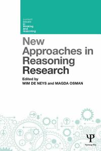 New Approaches in Reasoning Research PDF