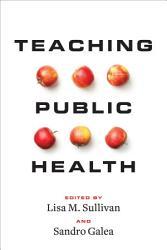 Teaching Public Health Book PDF