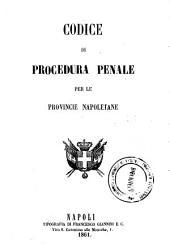 Codice di procedura penale per le Provincie napoletane
