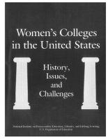 Women s Colleges in the United States PDF