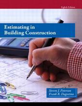 Estimating in Building Construction: Edition 8