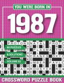 You Were Born In 1987 Crossword Puzzle Book