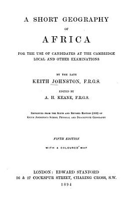 A Short Geography of Africa PDF
