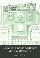 Anstalten und einrichtungen des öffentlichen gesundheitswesens in Preussen