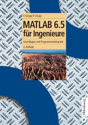 MATLAB 6 5 f  r Ingenieure PDF