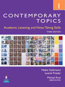 Contemporary Topics 1 Student Book with Streaming Video Access Code Card PDF