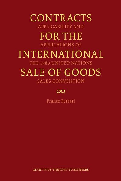 Contracts for the International Sale of Goods