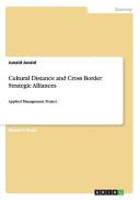 Cultural Distance and Cross Border Strategic Alliances PDF