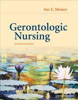 Gerontologic Nursing   E Book PDF