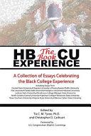 Hbcu Experience - the Book