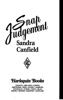 Snap Judgement PDF