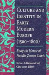 Culture And Identity In Early Modern Europe 1500 1800  Book PDF