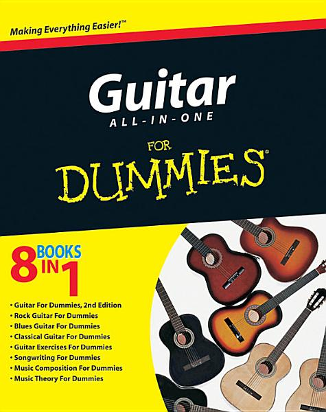 Download Guitar All in One For Dummies Book