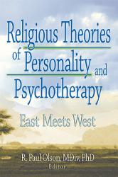 Religious Theories Of Personality And Psychotherapy Book PDF