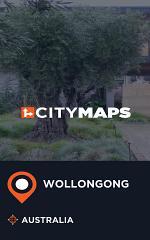 City Maps Wollongong Australia