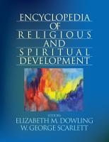 Encyclopedia of Religious and Spiritual Development PDF