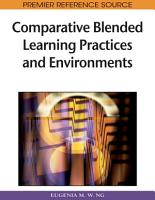 Comparative Blended Learning Practices and Environments PDF