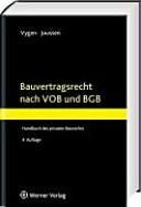 Bauvertragsrecht nach VOB und BGB PDF