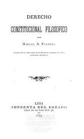 Derecho constitucional filosofico