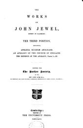The Works of John Jewel: Volume 3