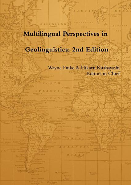 Download Multilingual Perspectives in Geolinguistics  2nd Edition Book