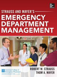 Strauss and Mayer   s Emergency Department Management PDF