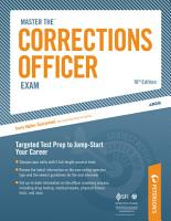 Master the Corrections Officer  Practice Test 1 PDF