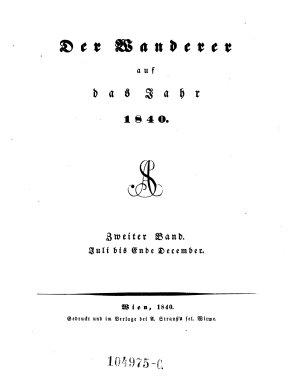 Der Wanderer PDF