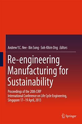 Re-engineering Manufacturing for Sustainability