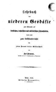 Lehrbuch der niederen Geod  sie  etc   PDF